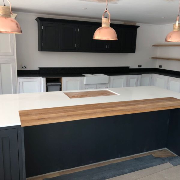 Bespoke Kitchen Quartz Countertops